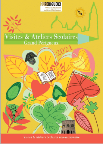 Couverture brochure visites écoles primaires 2021