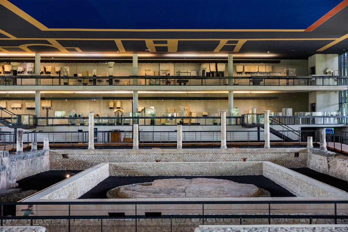 Photo de l'intérieur du Musée Vesunna