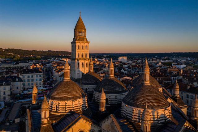 Toits de la Cathédrale Saint-Front de Périgueux