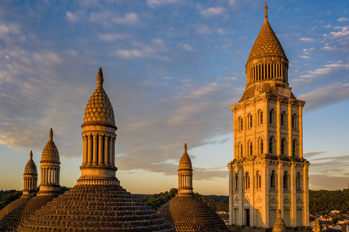 Toits de la Cathédrale Saint-Front à Périgueux