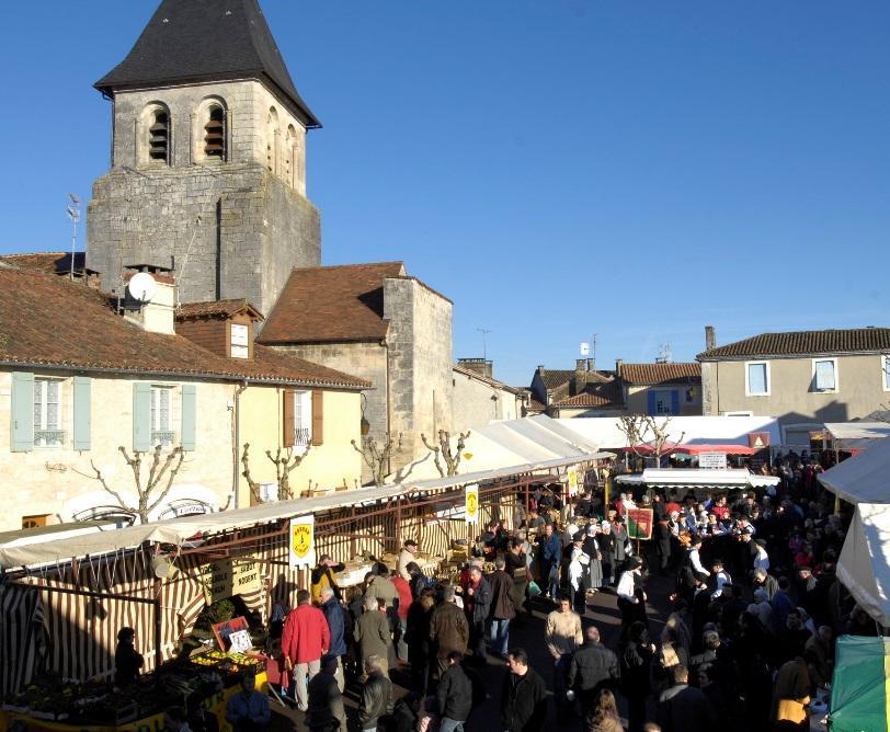 Marché aux truffes de Sorges-et-Ligueux-en-Périgord