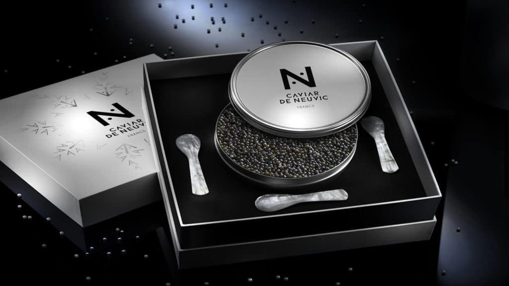 Coffret caviar de Neuvic
