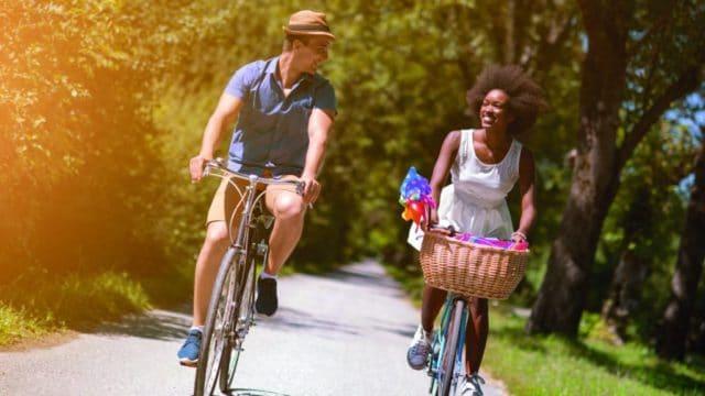 Visuel cyclo de la campagne Supérigueux Tourisme